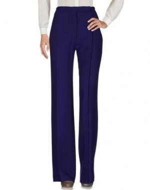 Повседневные брюки MARCO DE VINCENZO. Цвет: фиолетовый