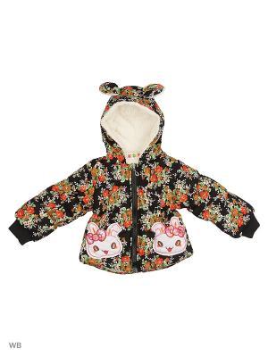 Куртка на синтепоне Kidly. Цвет: черный, зеленый, красный