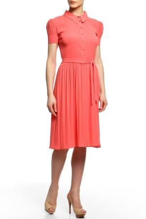 Платье BGN. Цвет: mandarin