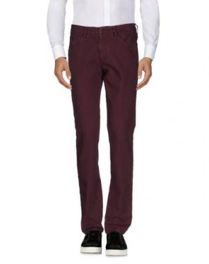 Повседневные брюки BARBATI. Цвет: пурпурный
