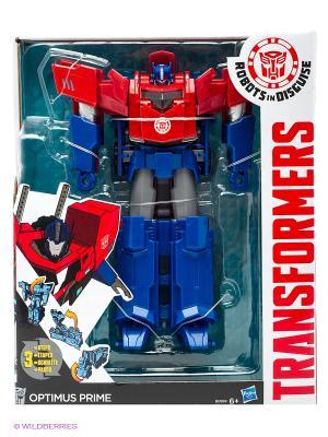 Трансформеры Роботс-ин-Дисгайс Гиперчэндж Transformers. Цвет: синий, красный, золотистый, белый