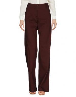 Повседневные брюки QL2 QUELLEDUE. Цвет: какао