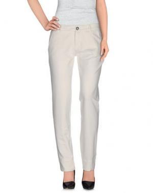 Повседневные брюки PRAIO. Цвет: белый