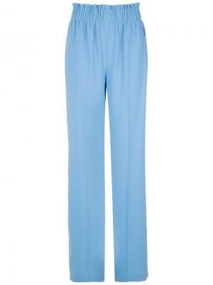 Wide leg trousers Reinaldo Lourenço. Цвет: синий