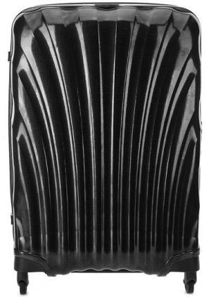 Большой серый чемодан на колесах Samsonite. Цвет: серый