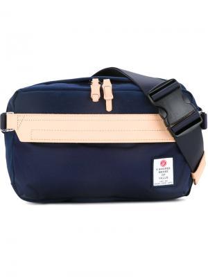 Нейлоновая поясная сумка Hidensity Cordura As2ov. Цвет: синий