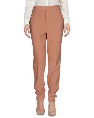 Повседневные брюки ESSENTIEL ANTWERP. Цвет: телесный