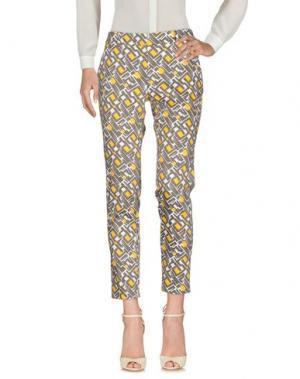 Повседневные брюки MARIA GRAZIA SEVERI. Цвет: серый