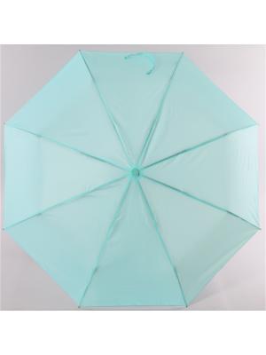 Зонт Torm, Женский, 3 сложения, Автомат,  Полиэстер Torm. Цвет: зеленый