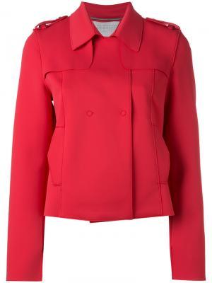 Куртка с потайной застежкой Harris Wharf London. Цвет: розовый и фиолетовый
