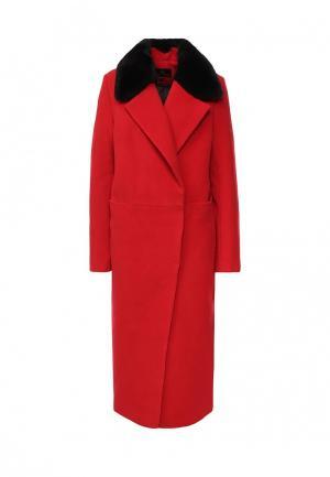 Пальто Grand Style. Цвет: красный