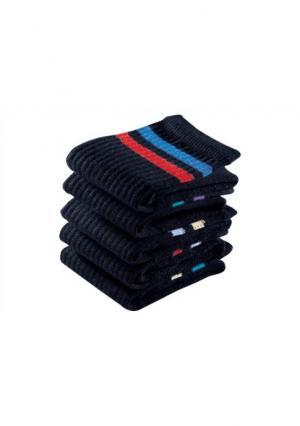 Спортивные носки, 12 пар GO IN. Цвет: черный в полоску