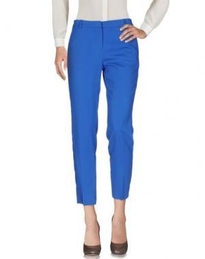 Повседневные брюки SPACE STYLE CONCEPT. Цвет: ярко-синий