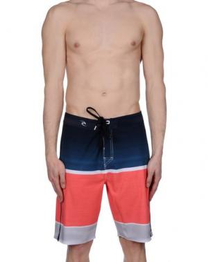 Пляжные брюки и шорты RIPCURL. Цвет: красный