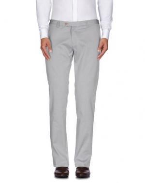 Повседневные брюки ROBERTO PEPE. Цвет: синий
