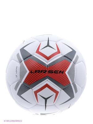 Мяч футбольный Draft JR Larsen. Цвет: белый, черный, красный