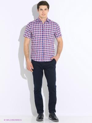 Рубашка Hans Grubber. Цвет: персиковый