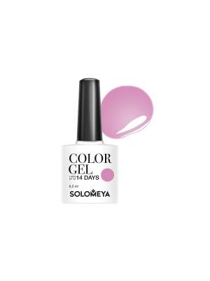 Гель-лак Color Gel Тон Beret SCG034/Берет SOLOMEYA. Цвет: розовый
