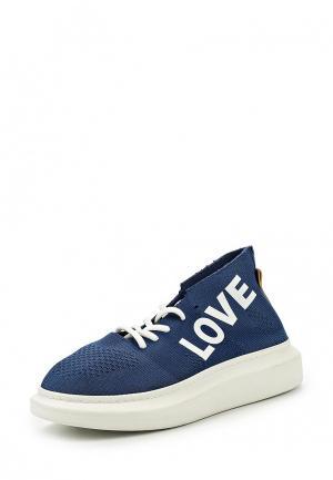 Кроссовки Grand Style. Цвет: синий