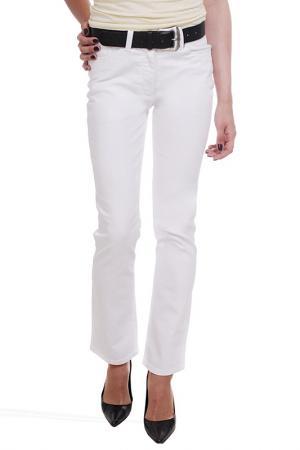 Прямые джинсы Million X Woman. Цвет: белый