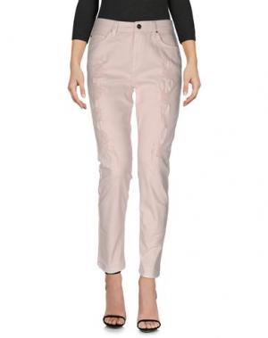 Джинсовые брюки TOY G.. Цвет: розовый