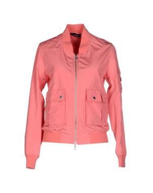 Куртка CANADIENS. Цвет: лососево-розовый