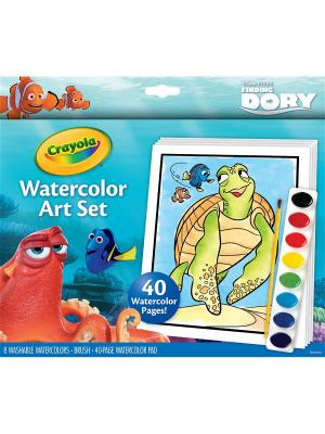 Набор с краской и раскрасками В поисках Дори Crayola 04-6892C