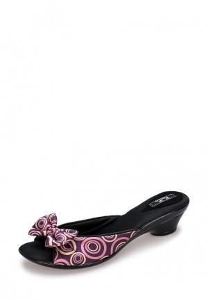 Тапочки Petit Pas. Цвет: фиолетовый