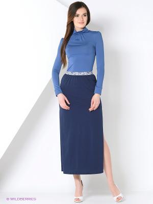Водолазка RUXARA. Цвет: серо-голубой