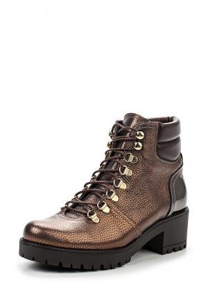 Ботинки Kanna. Цвет: золотой