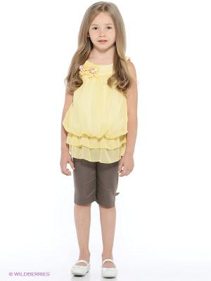 Комплект Monna Rosa. Цвет: коричневый, желтый