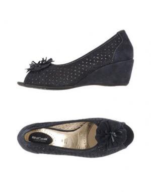 Туфли WEST COAST. Цвет: темно-синий