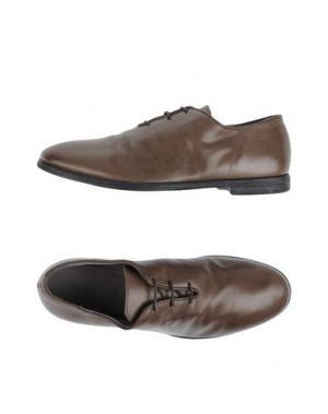 Обувь на шнурках BOEMOS. Цвет: хаки