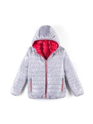 Куртка Coccodrillo. Цвет: красный,серый