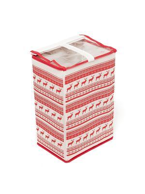 Обувная коробка Scandinavia Homsu. Цвет: красный