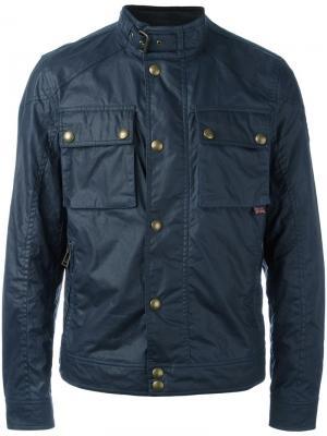 Куртка Racemaster Belstaff. Цвет: синий