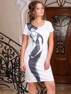 Платье Dea Fiori. Цвет: белый