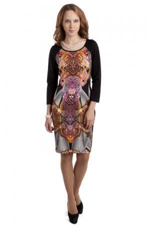 Платье Apanage. Цвет: разноцветный