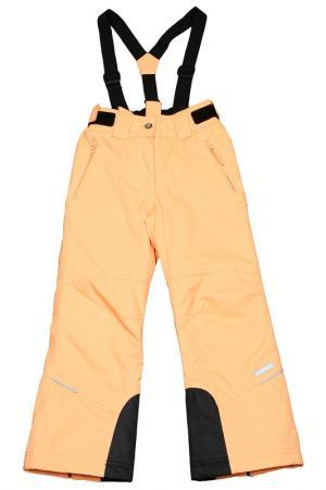 Прямые брюки с утеплителем Icepeak. Цвет: 443 оранжевый