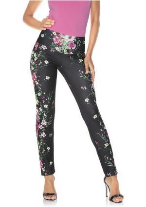 Моделирующие брюки Class International. Цвет: черный