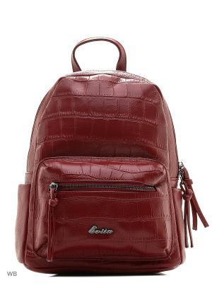 Рюкзак EVITA. Цвет: бордовый