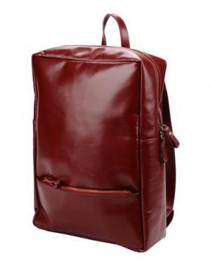 Рюкзаки и сумки на пояс CORSIA. Цвет: красно-коричневый