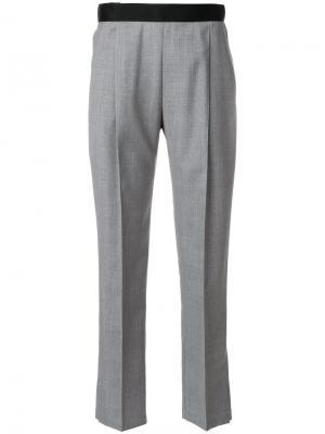 Укороченные брюки с завышенной талией Alyx. Цвет: серый