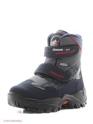 Ботинки Skandia. Цвет: серый