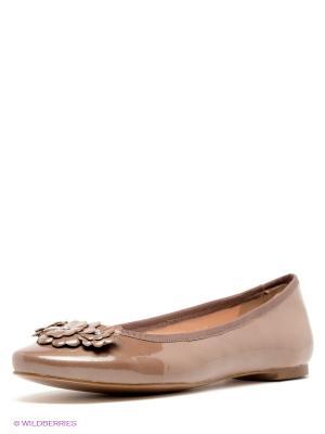 Балетки Calipso. Цвет: коричневый