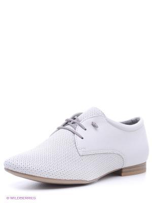 Ботинки Tamaris. Цвет: светло-серый