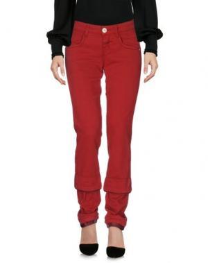 Повседневные брюки LE JEAN DE MARITHÉ + FRANÇOIS GIRBAUD. Цвет: красный