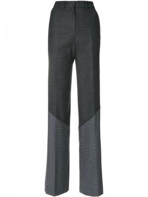 Свободные брюки с панельным дизайном Circus Hotel. Цвет: серый