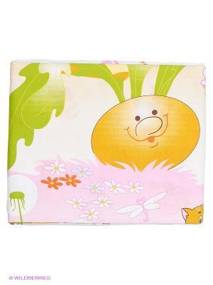 Комплект постельного белья Baby Nice. Цвет: желтый, салатовый