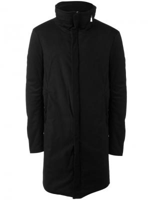 Пальто на молнии Poème Bohémien. Цвет: чёрный